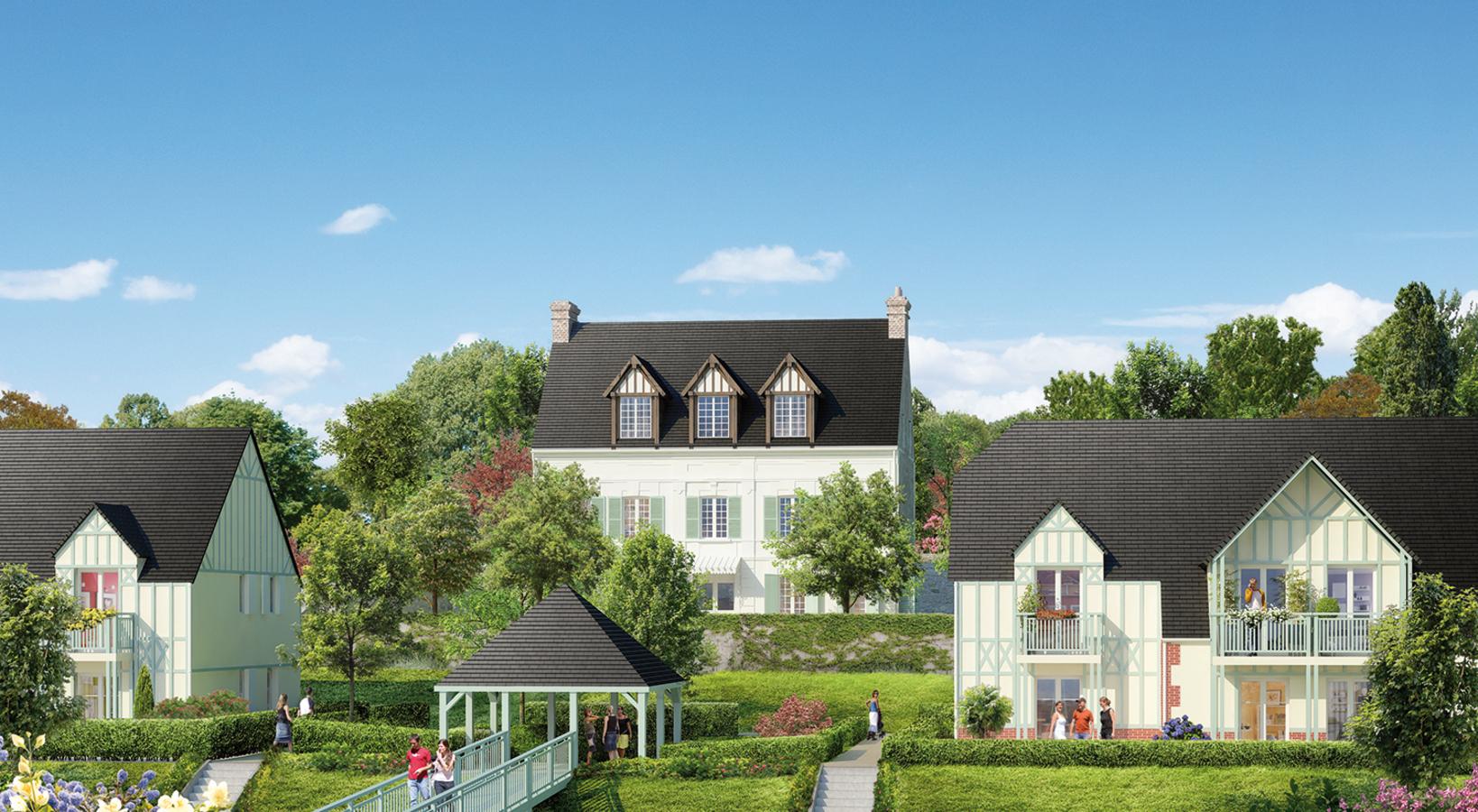 Le domaine du prieur appartements neufs saint arnoult for Defiscalisation achat immobilier neuf